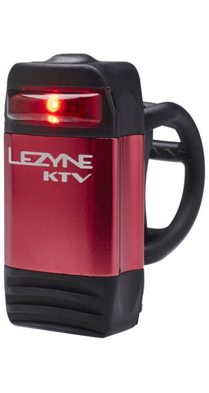 Lezyne KTV Drive Rücklicht rot glänzend